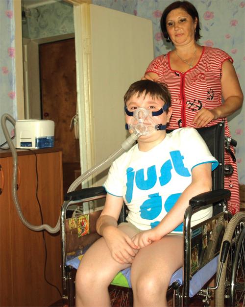 Илья был счастлив, когда у него появился аппарат для дыхания...