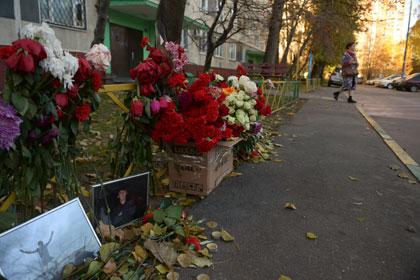 Место убийства Егора Щербакова Фото: Григорий Сысоев / РИА Новости