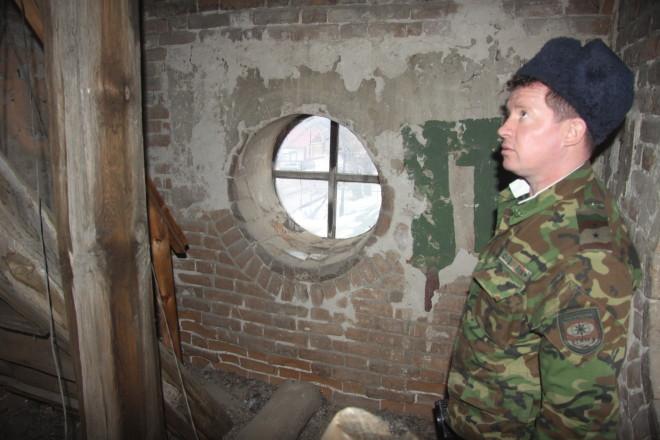 Наш фотокорреспондент побывал и на «каланче» - так пожарные называют башню старейшей в Казахстане пожарной части.