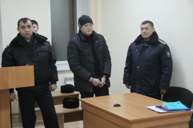 На фото: 23-летний следователь финансовой полиции Ерлан Байчеркешев