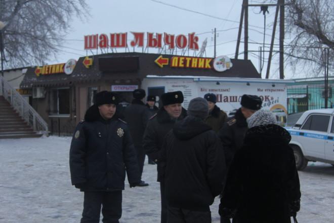 В этом кафе хулиган угрожал персоналу боевой гранатой