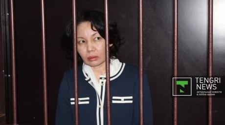 Анар Мешимбаева на протяжении всего судебного процесса заявляла о своей невиновности. Фото Асель Сатаевой.