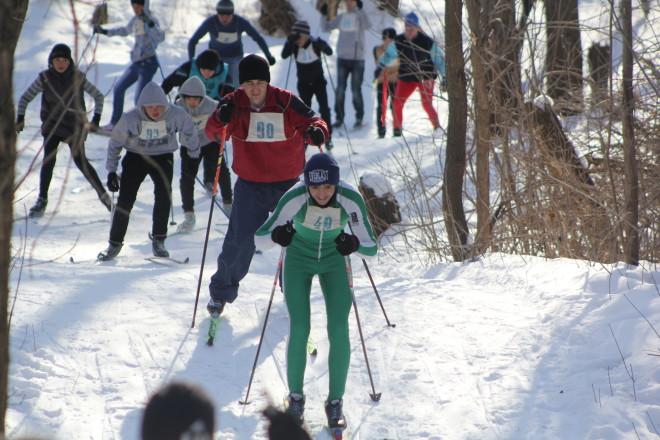 На уральскую лыжню приехали спортсмены из Чингирлау, Бурлина, Круглоозерного и даже с Актобе.