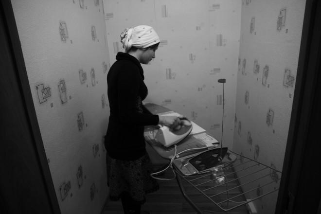 Здание монастыря не лишено удобств. Для монахинь оборудованы современная душевая и гладильная комната.