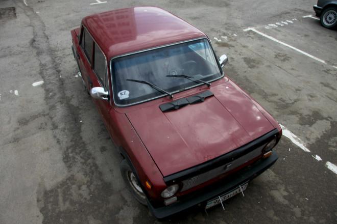 Автомобиль, в котором произошло убийство. Фото Рауля Упорова