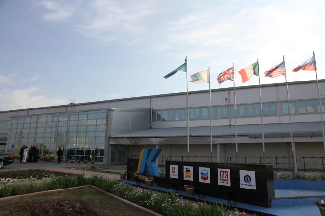 Здание КПО б.в. на Карачаганакском месторождении - фото Рауля Упорова