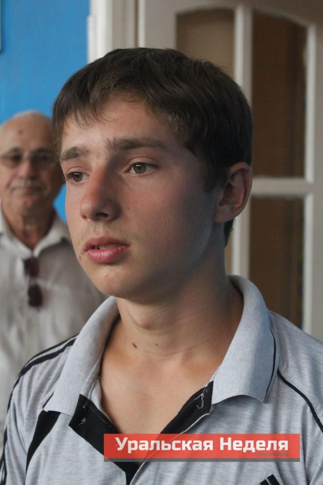 Алексей Павленко, 15 лет, ученик СОШ №24