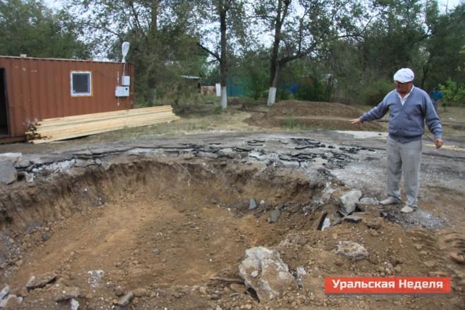 На этом месте будет установлен памятник жертвам Чернобыльской аварии