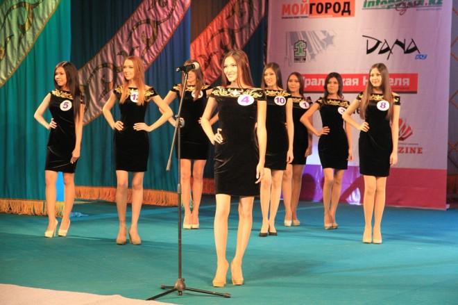 """Участницы конкурса """"Мисс Уральск 2014"""""""