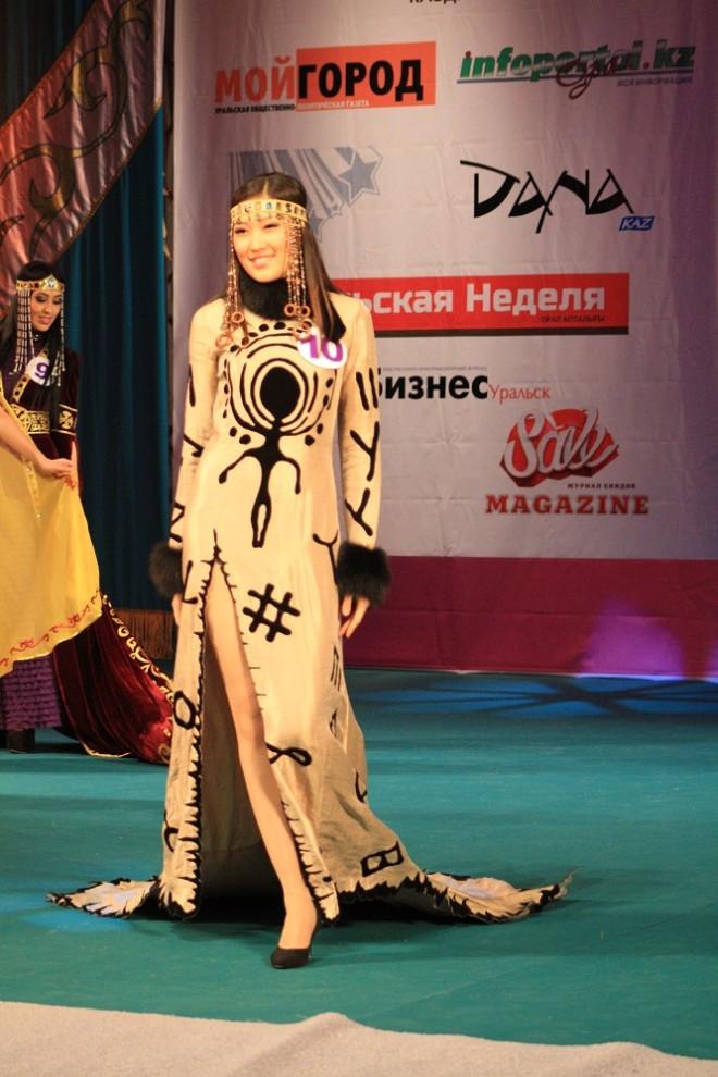 Второй Вице-Мисс Уральск 2014 стала Коркем Даумова