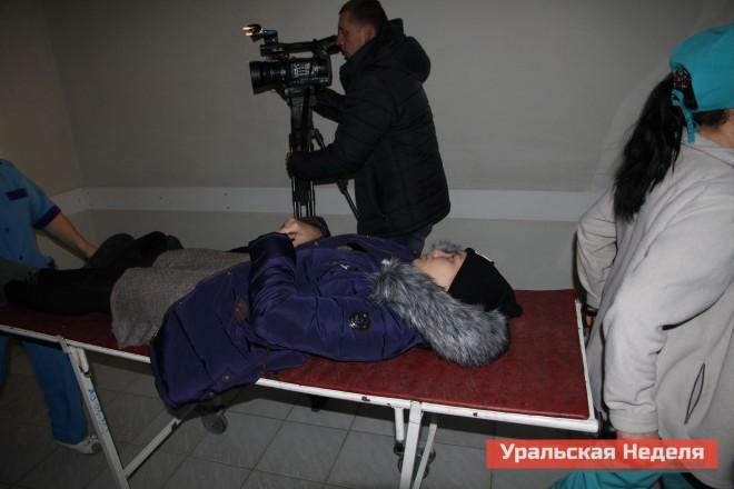 Следом в больницу доставили еще одну пострадавшую из Березовки.