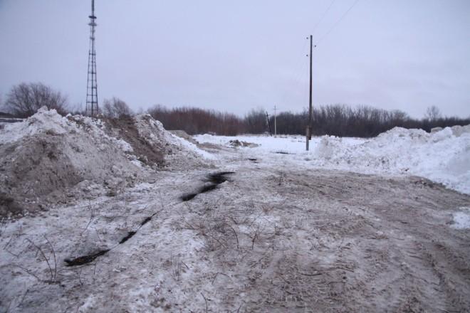 Место происшествия. На снимке виден черный след от горевшего электропровода.