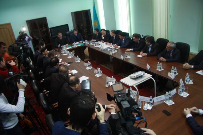 Встреча Асета Исекешева с руководителями предприятий ЗКО