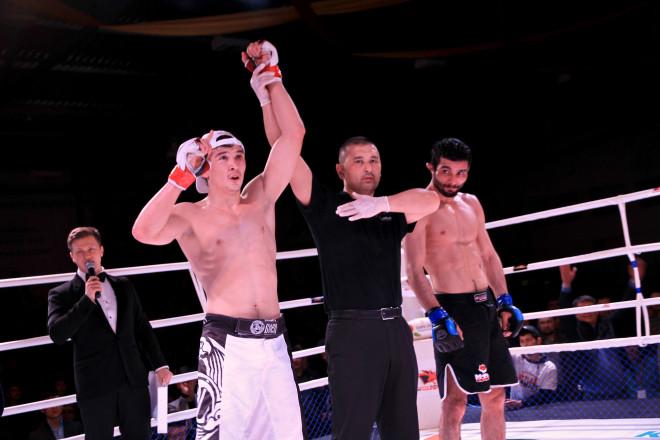Победа заслуженно досталась Дамиру Исмагулову.