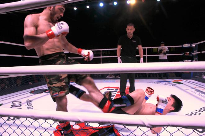 В весовой категории 65,8 кг за золотую медаль боролись Мансур Арсханов из Уральска и астанчанин Муртабек Касымбай.