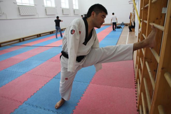 Не имея рук Малик много работает над техникой работы ногами. По словам тренера у Малика взрывная сила удара ноги, которую он использует в состязаниях.