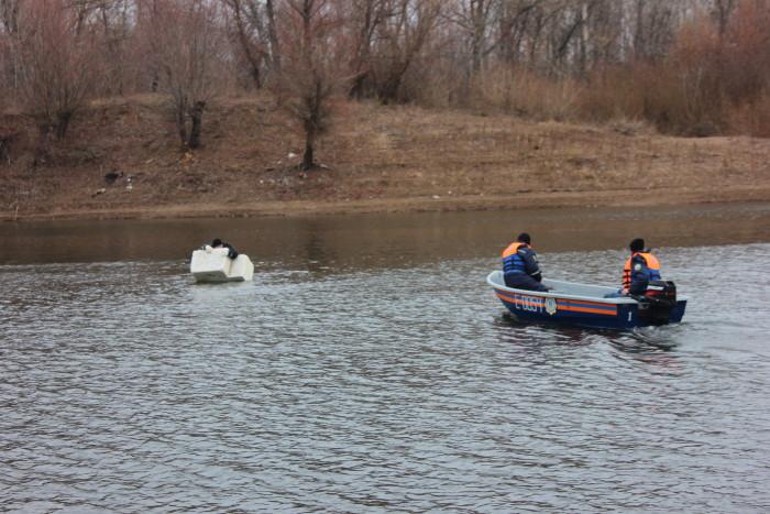 Снятие человека со льдины. Последний реальный случай был в 2011 году, с участием 3 подростков