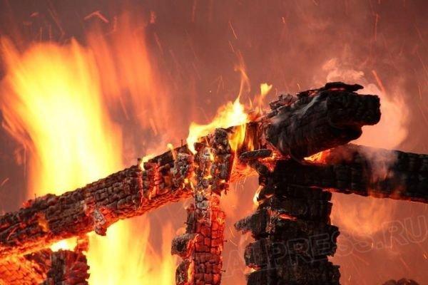 пожар илюстрация