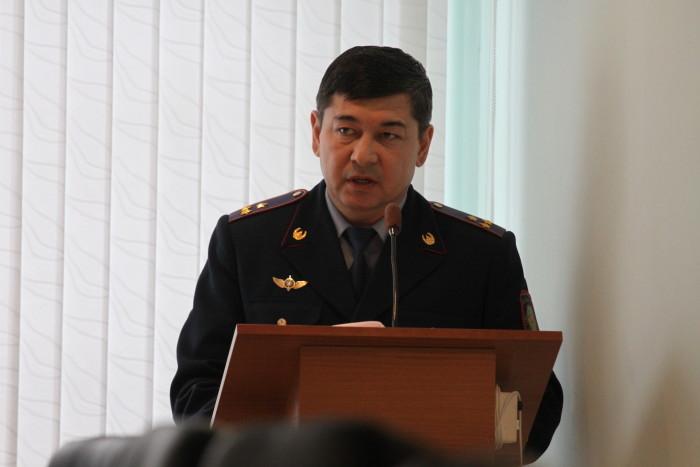 Манарбек Габдуллин, начальник управления местной полиции ЗКО