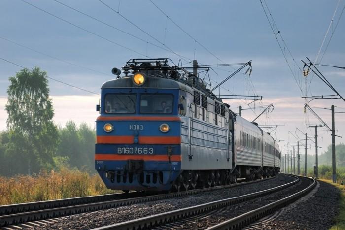 поезда фото