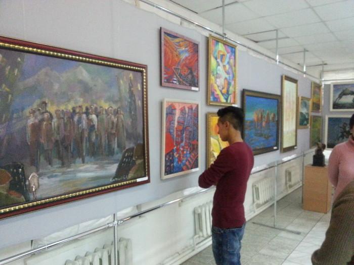респ выставка союза художников 2014
