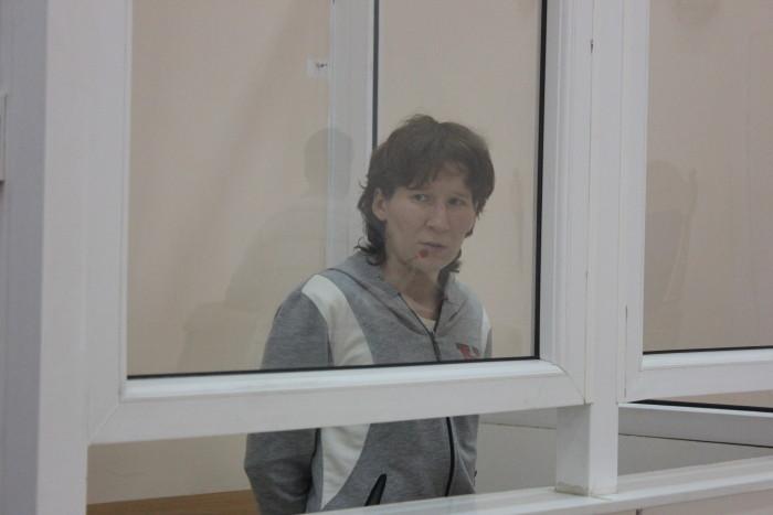 Альфия Хусаинова плакала во время того, как судья зачитывала приговор.