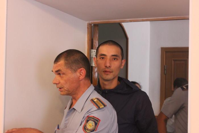 Рустема Жумашева освободили в зале суда
