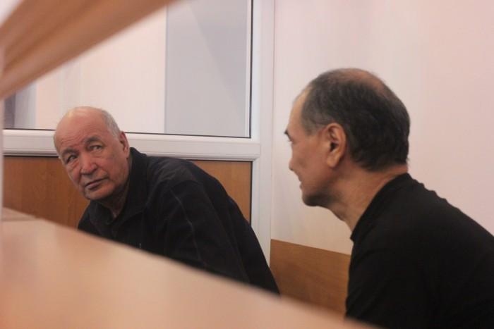 Хайролла Исмагулов и Арман Тулегенов