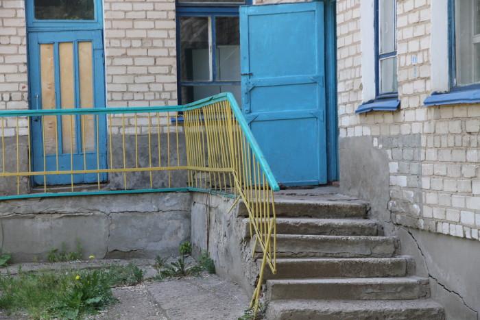 покосившиеся лестницы
