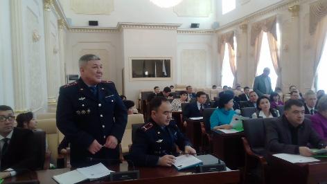 Сессия городского маслихата. Уральск 05 декабря 2016 год.