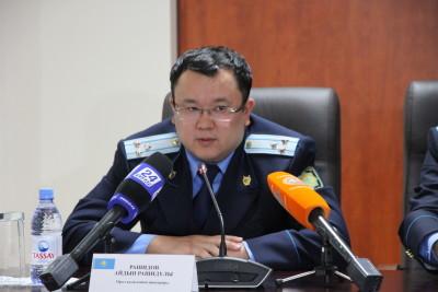 Прокурор города Айдын Рашидов