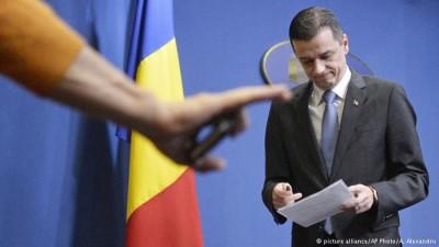 Премьер-министр Румынии Сорин Гриндяну