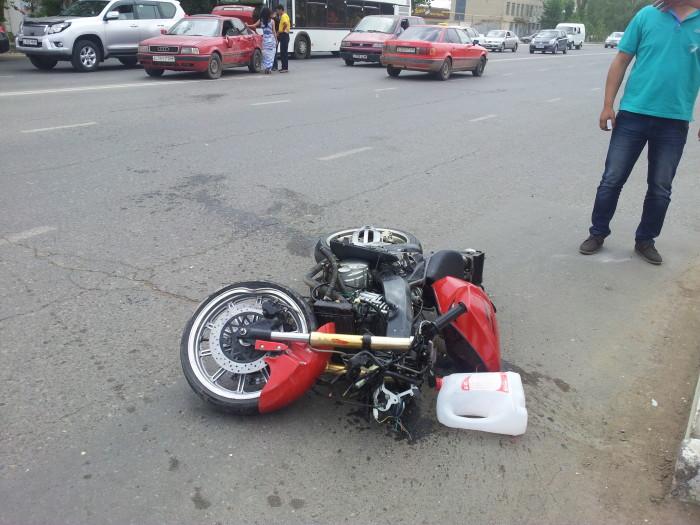 В ЗКО с начала года произошло 10 аварий с участием мотоциклистов