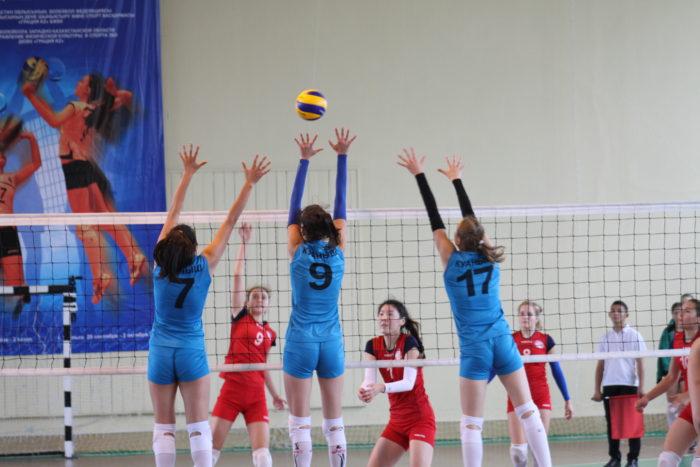 Чемпионат по женскому волейболу пройдёт в Уральске