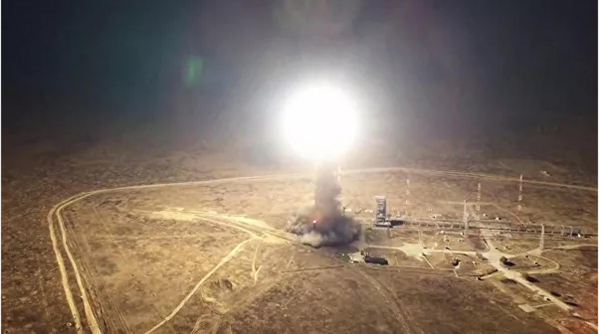 Над ЗКО пролетела российская военная ракета и упала на территории Казахстана (ВИДЕО)